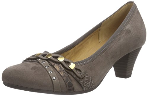 Gabor Shoes Damen Basic Pumps, Mehrfarbig (Fango/Cigar/Bronce 33), 41 EU