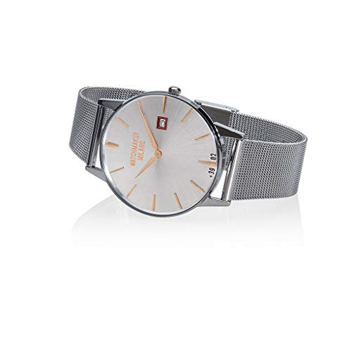 Watchmaker Milano Orologio Uomo Slim da Polso Vintage al Quarzo con...