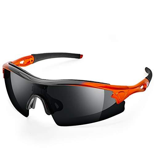 Gafas de Sol de Seguridad de Lente Oscuro de ToolFreak Reevo. Anti Reflejo, Trabajo, Deportes y más. Más protección UV y protección contra Impactos. EN166 FT