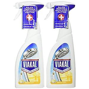 Viakal – Detergente antical en aerosol, tamaño grande, 10 unidades de 515 ml