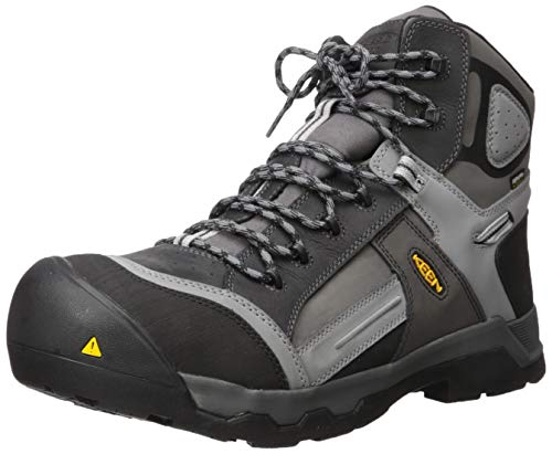 "KEEN Utility Men's Davenport 6"" Composite Toe Insulated 400g Waterproof Work Boot"