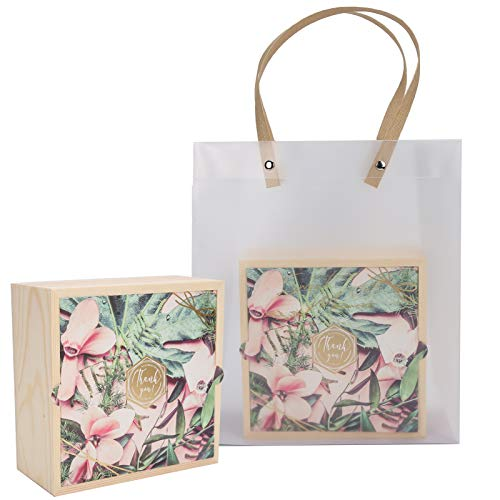 Bolsa de regalo, caja de regalo, regalo de celebración de PVC para la boda del día de San Valentín(Huayu, blue)