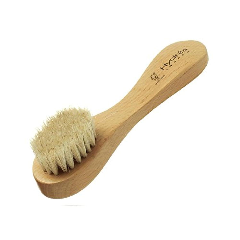 プレゼンター主にヘッジ純粋毛、ソフト/中程度の強度を有するハイドレアロンドンハイドレアロンドン顔ブラシ x4 - Hydr?a London Hydrea London Facial Brush with Pure Bristle, Soft/Medium Strength (Pack of 4) [並行輸入品]