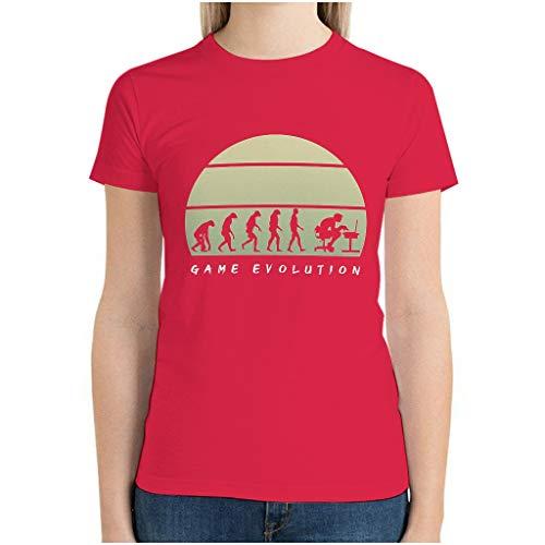 XunYun Game Evolution 3D Impreso varios tipos camiseta camiseta para esposa