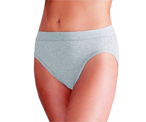 ESGE Damen Jazzpant 5er Pack Größe 44-46, Farbe grau Melange