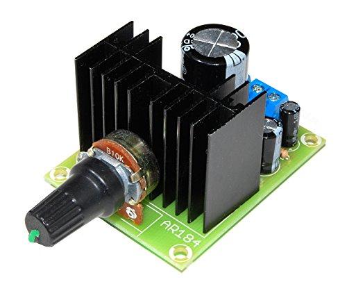 arlikits ar184m Fuente de alimentación Regulable Notebook 1,2V de 37V 1.5A Módulo con disipador Ajustable Fuente de alimentación de Laboratorio Dispositivo