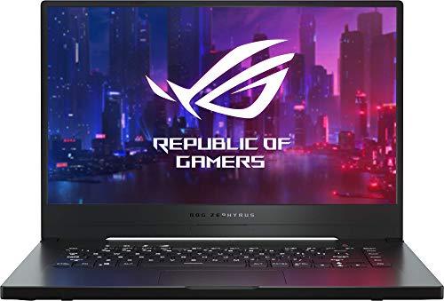"ASUS ROG Zephyrus G GA502DU-BQ015 - Portátil Gaming de 15,6"" (Ryzen 7 3750H, 8GB RAM, 512GB SSD, GeForce GTX1660Ti, sin Sistema operativo) Metal Negro - Teclado QWERTY español"