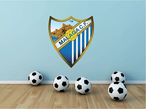 lunaprint Malaga CF Spain Soccer Football Sport Home Decor Art Wall Vi