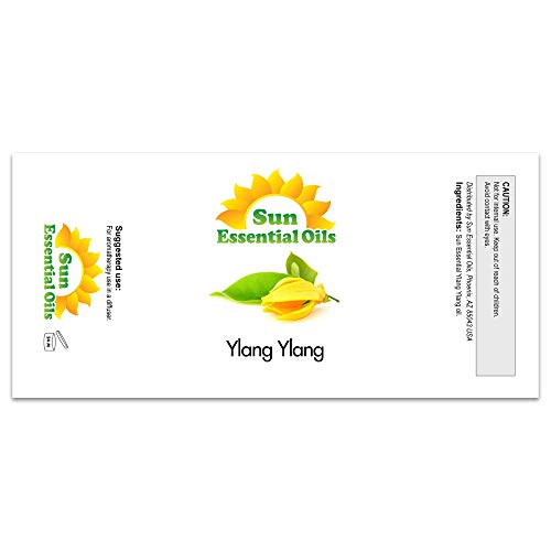 Ylang Ylang Essential Oil (Huge 4oz Bottle) Bulk Ylang Ylang Oil - 4 Ounce