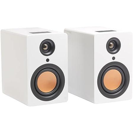 MITCHELL ACOUSTICS USTREAM One - Enceinte Blanche Hi-FI sans Fil True Wireless Bluetooth 5.0 - idéal pour Streamer Vos musiques en qualité HiFi Depuis Les différentes Plateformes de Streaming.