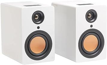 Mitchell Acoustics Ustream One - Enceinte Blanche Hi-FI sans Fil True Wireless Bluetooth 5.0 - idéal pour Streamer Vos mus...