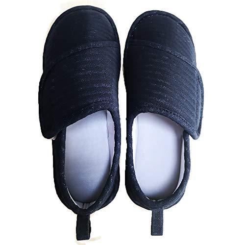 Sanaris ルームシューズ 介護シューズ リハビリ シューズ 婦人 女性用 おしゃれ 介護 靴 レディス スリッパ 高齢者 室内履き 女性 履きやすいスリッパ 軽量 産後 室内外履き 介護用シューズ 高齢者用シューズ 介護用靴 早快マジック 歩きやすい