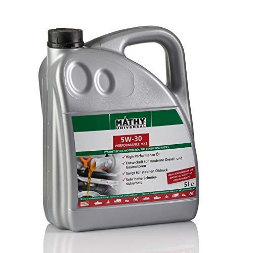 MATHY SAE 5W-30 Performance VX3 5 Liter Motoröl