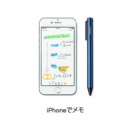ワコムBambooTipブルー(Android/iOS用)極細スタイラスペンCS710B