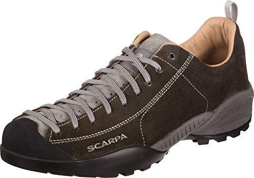 Scarpe Schuhe Scarpa in pelle Mojito, nero (cacao), EU 41