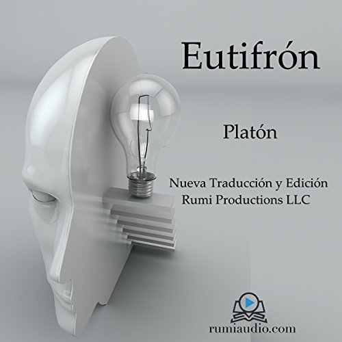 Eutifrón audiobook cover art