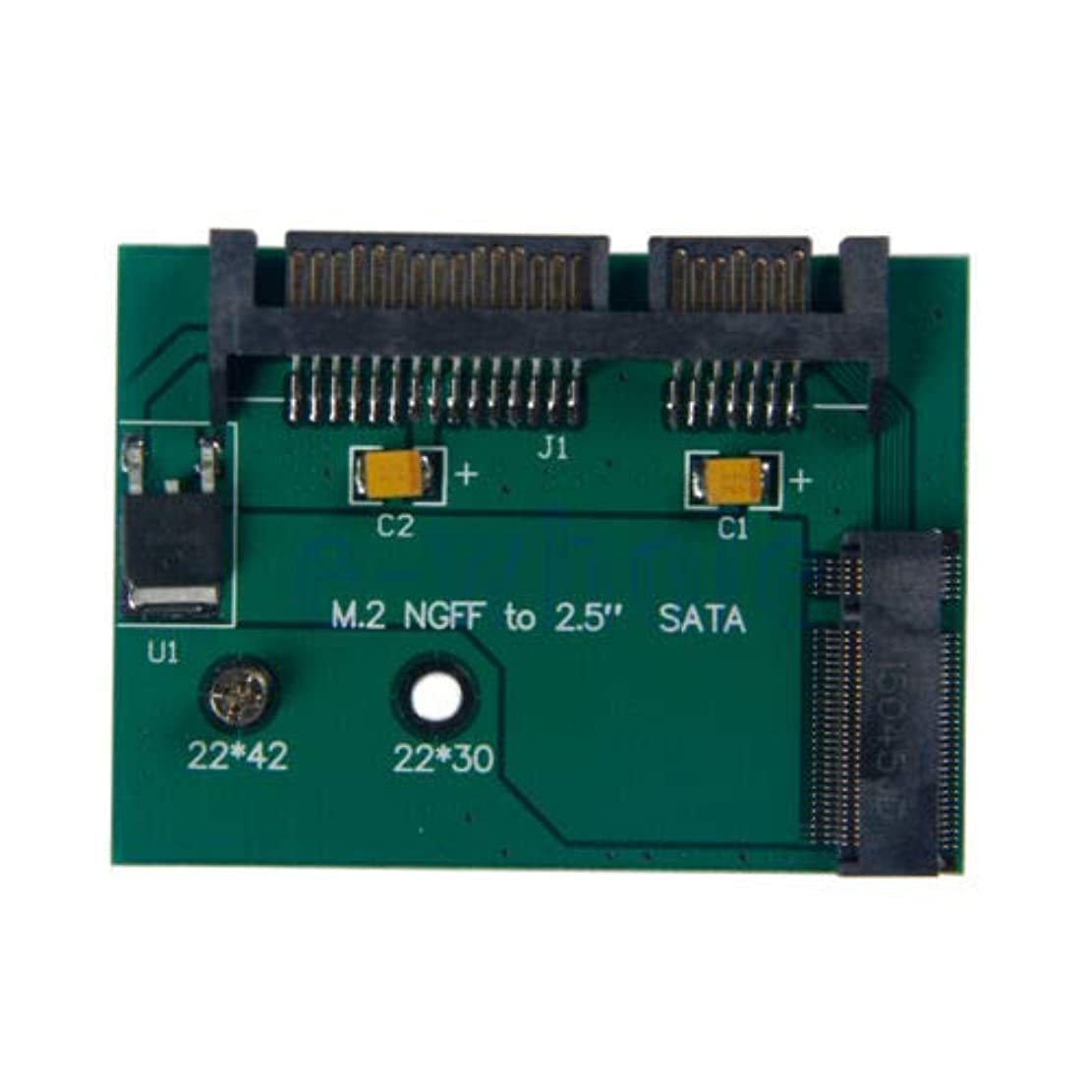 モールス信号入浴上向きFidgetGear B Key M.2 NGFF SSD Solid State Drive To 7+15 pin 2.5'' SATA Card Adapter TW