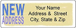 New Address Label - Customized Return Address Label - We Moved, Moving Announcement 90 Labels