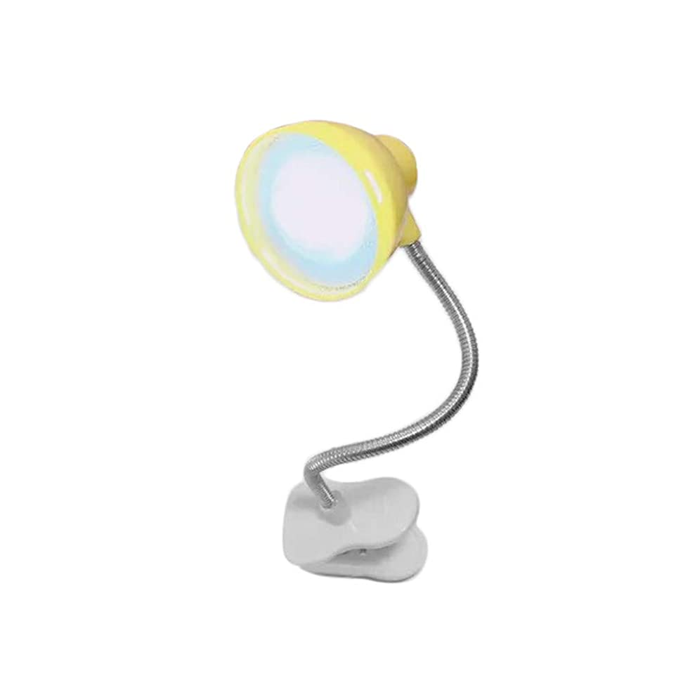 オーストラリア反応するパックレンコス(Lemcos)デスクライト LED デスクライト ランプ勉強 常夜灯 目に優しい タッチセンサー 仕事ライト 電気スタンド 360度回転可能 多角度調整可能 読書灯 勉強 読書ライト USB充電 省エネ (イエロー)