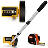 Scuddles Collapsible Measuring Wheel Measures Up To 10,000 Feet Perfect surveying Tool For Distance Measurment (Compact Wheel)