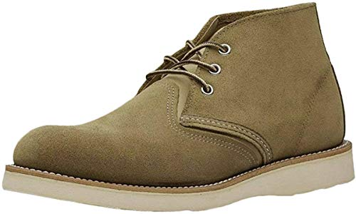 Red Wing Mens Chukka 3149 Brown Suede Boots 43 EU