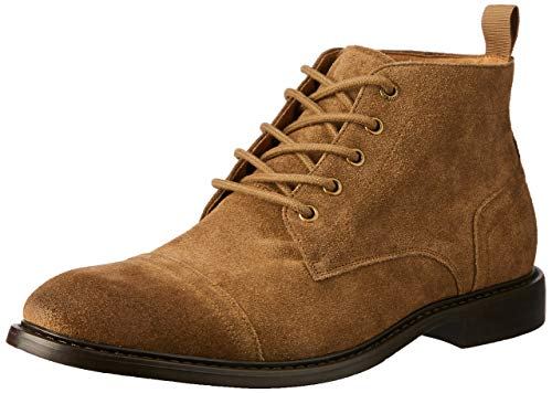 Hush Puppies Grimes Boots, Taupe Suede, 10 AU