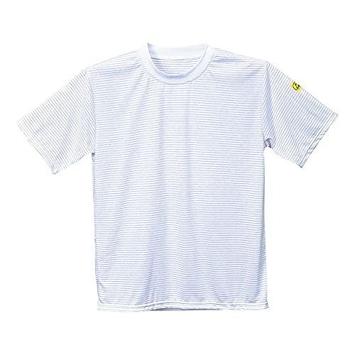 Portwest PORTWEST antistatik, ESD T-Shirt, 1 Stück, S, Weiß, AS20WHRS