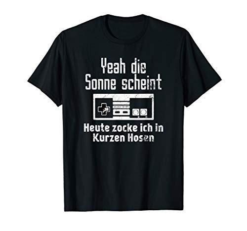 Gamer Lustiges Geschenk Weihnachts Witzig T-Shirt
