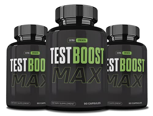 (3 Pack) Testboost Max Supplement for Men, Test Boost Max...