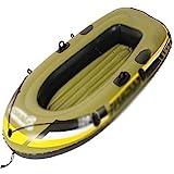 ACEWD Kayacs Hinchables De 2 Plazas, Canoa Hinchable Piscina, Barca Hinchable Infantil, Balsa Hinchable, Balsa Hinchable Pesca (Dos Opciones),1personal
