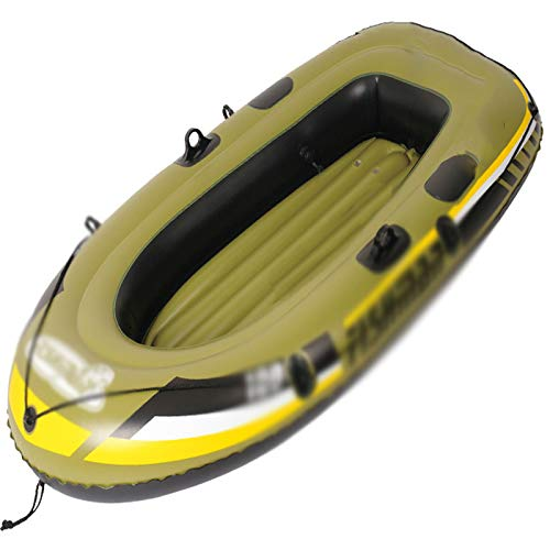 Inflatable Boats for Adults 2 Person Fishing Dinghy Inflatable Boat for Kids with Paddles Inflatable Rafts Boats Touring Kayak Two Options1personal