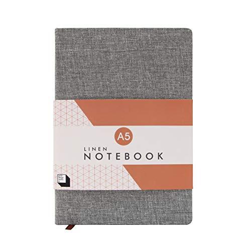 Good Design Works Notizbuch, Leinen, A5 slate
