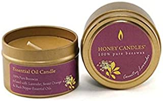 Honey Candles Essentials Tin - Country Lavender