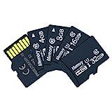 Xinjieda ZYElroy Speicherkarte Resuable Karte Universal-Mini-Flash-Speicher für Smartphone tragbarer Ultra Micro Card, 8GB