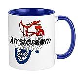 Tazza da bicicletta Amsterdam Tazza da caffè unica Tazza da caffè