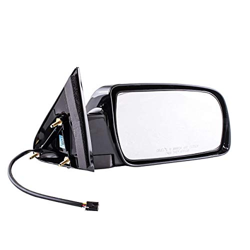 Passenger Side Mirror Compatible with Cadillac Escalade Chevy Blazer Suburban Tahoe GMC Yukon C/K 1500 2500 3500 (1988 1989 1990 1991 1992 1993 1994 1995 1996 1997 1998 1999 2000) Non-Heated Power