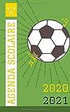 Agenda Scolaire Football   2020-2021: Organisateur Journalier Primaire / Collège / Lycée / Université   290 PAGES   Organiser et Réussir votre nouvelle Année Scolaire !