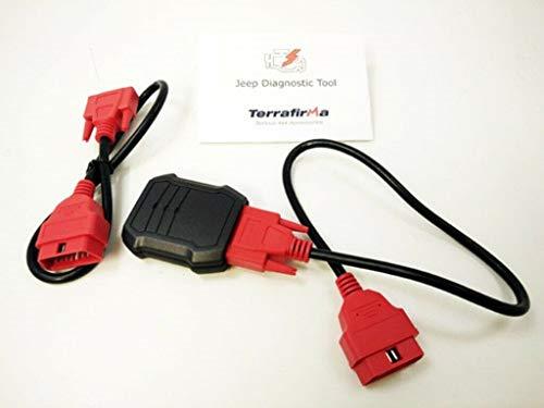 Best Buy! Proper Spec TERRAFIRMA TF Diagnostic Tool All Jeep Models TFDTJEEP New