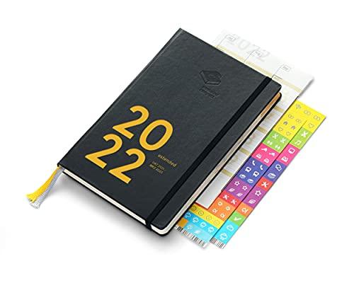 weekview compact extended 2022 - der clevere Wochenplaner! Personal Organizer von Okt 2021 bis März 2023 / A6+ (12x18cm)