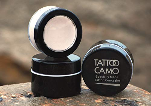 Tattoo Camouflage Cover Up Makeup Concealer Single Kit Complete Coverage
