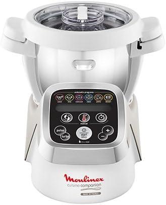 Moulinex Cuisine Companion - Robot de cocina (Plata, Color blanco) [Versión italiana]: Amazon.es: Hogar