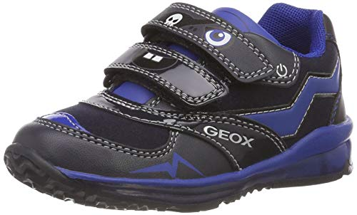Geox B Todo A, Scarpe da Ginnastica Basse Bimbo 0-24, Blu (Dk Navy/Royal C4184), 22 EU