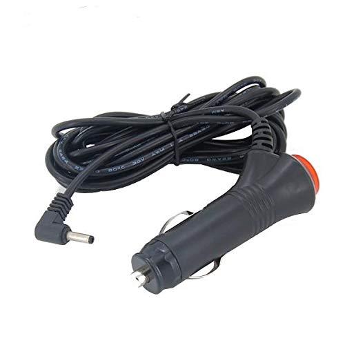 WZhen 3M 12V Cargador De Coche Redondo Dc3.5Mm Cargador Cable De Alimentación