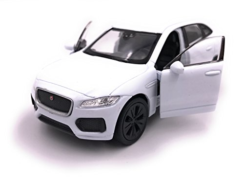 H-Customs Jaguar F-Pace SUV modelauto gelicentieerd product 1:34-1:39 wit