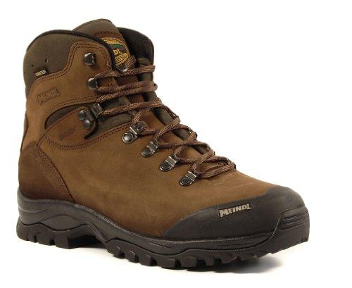 Meindl Herren Kansas GTX High Rise Wandern Schuhe, Braun - Dunkelbraun - Größe: 43.5 EU