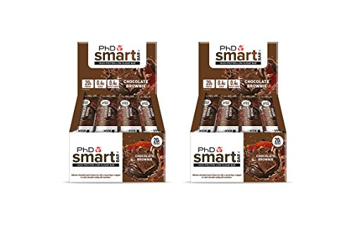 12Pack x PhD Smart Bar High Protein Low Carb Bar–Pack of 2 24Bars x 64g