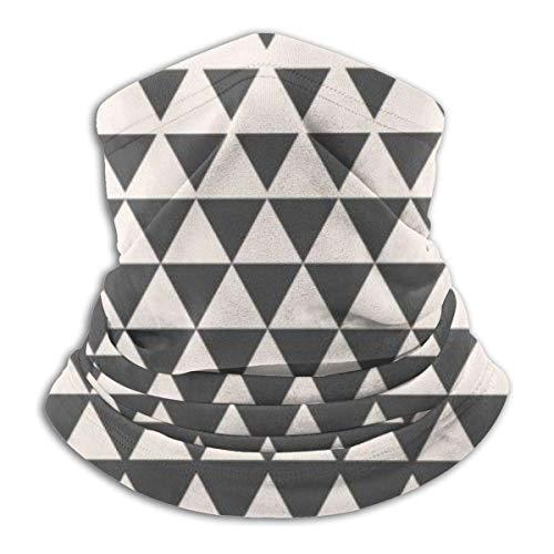 lymknumb Unisex Face Covers Triangles Vintage Halbton Farbverlauf Geometrische Hals/Ohr Ski Schal Schild Armband für das ganze Jahr