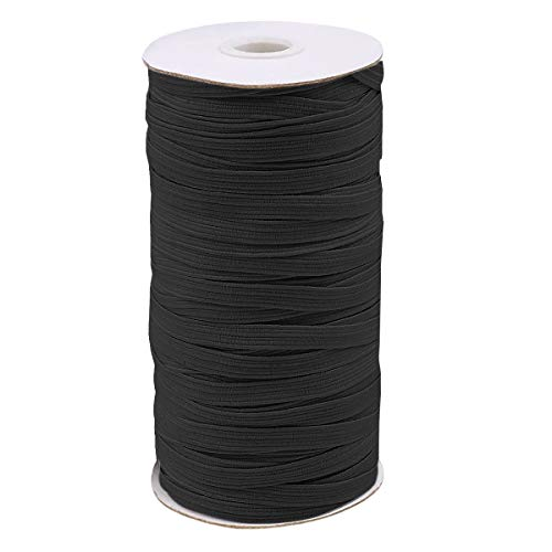 5mmx 64m Goma Elastica Cordon Elastico Costura, Cuerda Elastica,Cinta Elastica Costura,Cordón Goma Elástica para Costura Y...