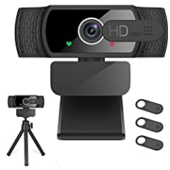 ★【Full HD 1080P Webcam with Autofocus Light Correction】Equipped with Full HD 1080P resolution and adopted the advanced H.264 compression techonology, the webcam powered by USB 2.0 port, delivers fabulous quality image at 30FPS, Thanks to Large Sensor...