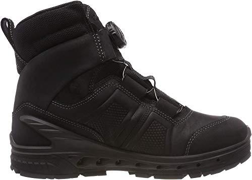 ECCO Biom Venture TR, Chaussures de Randonnée Hautes Homme, Noir (Black Morgan Caldera 51052), 46 EU